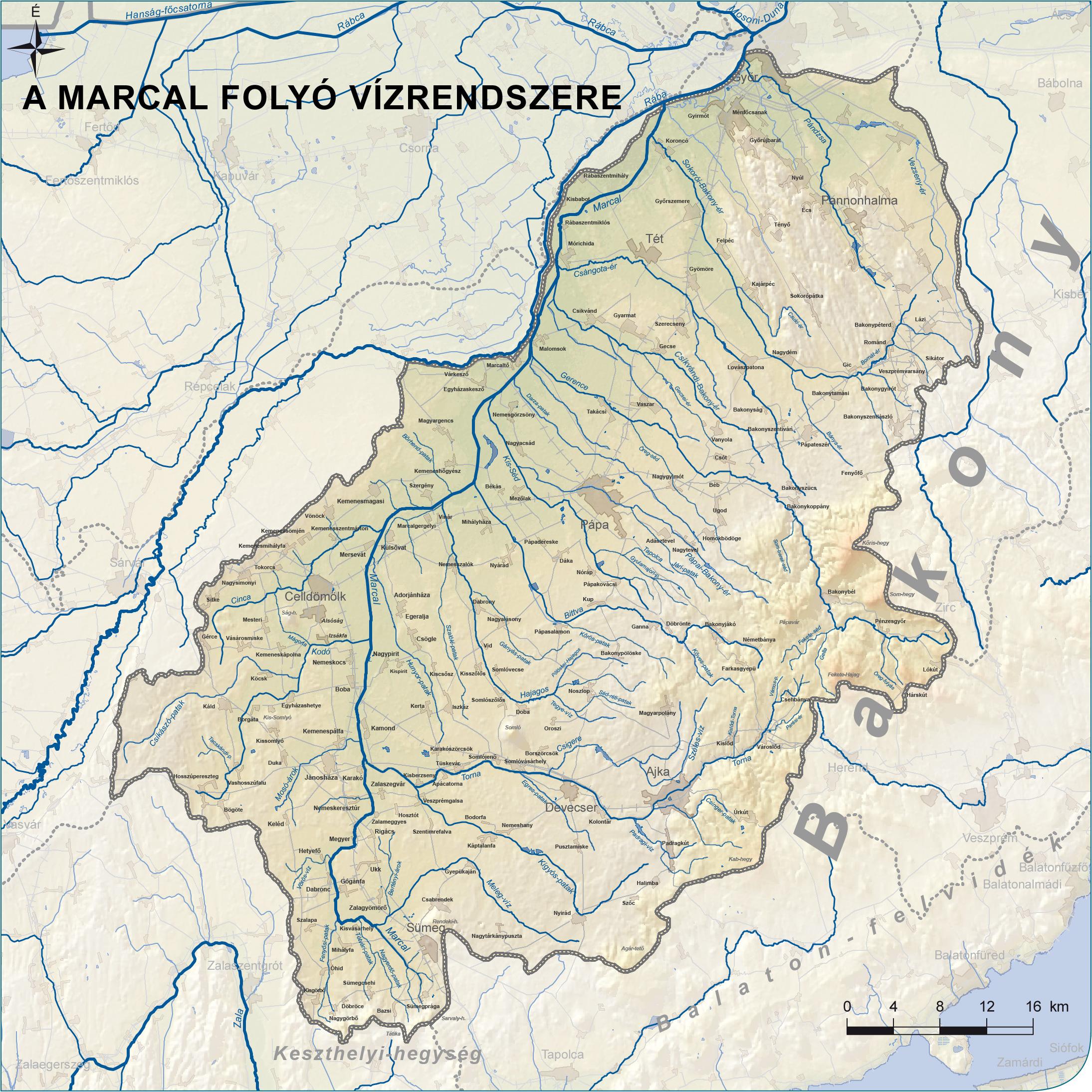 A Marcal folyó honlapja - Eredettől torkolatig - végig a folyó mentén fee1f9048c